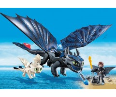 PM70037 Драконы III: Иккинг и Беззубик