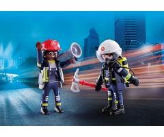 PM70081 Пожарные спасатели