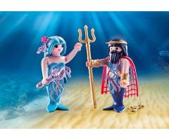 PM70082 Морской король и русалка