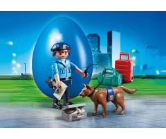 PM70085 Офицер полиции с собакой
