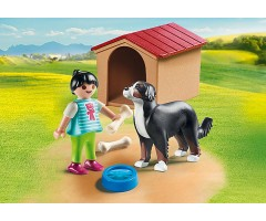 PM70136 Собака с конурой