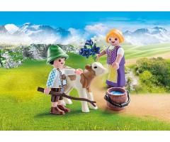 PM70155 Дети с теленком