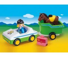 PM70181 Машина с трейлером для лошади