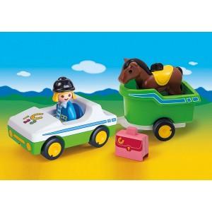 «Машина с трейлером для лошади» PM70181