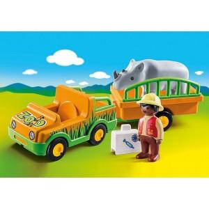 «Автомобиль зоопарка с носорогом» PM70182