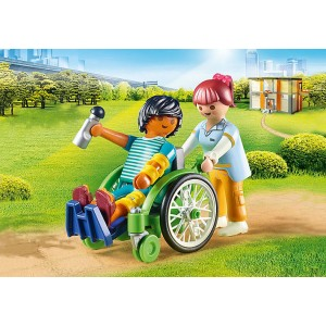 «Пациент в инвалидном кресле» PM70193