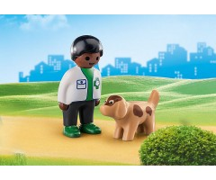PM70407 Ветеринар с собакой