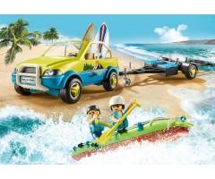 PM70436 Пляжная машина с каноэ