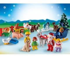 PM9009 Календарь Рождество на ферме