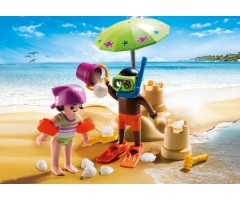 PM9085 Дети на пляже