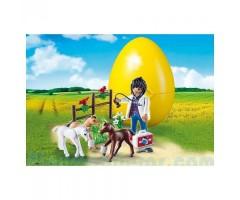 PM9207 Яйцо: Ветеринар с жеребятами