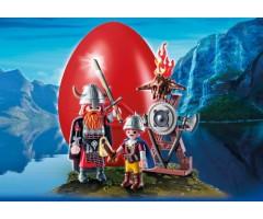 PM9209 Яйцо: Викинги с щитами