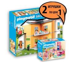 PM92662 Кукольный дом + Детская комната