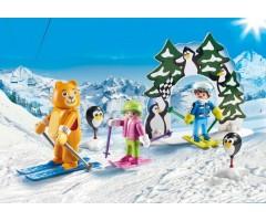 PM9282 Урок катания на лыжах