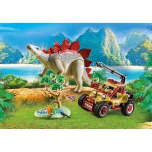 «Исследовательский транспорт со стегозавром» PM9432