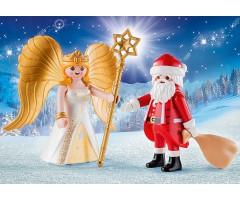 PM9498 Санта и рождественский ангел