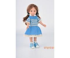 PR0111 Платье голубое