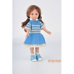 «Платье голубое» PR0111