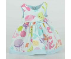 PR0205 Платье с рыбками
