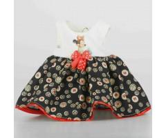 PR0208 Платье с пуговками