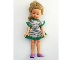 PR218 Платье пестрое