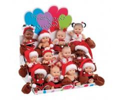 Пупс Санта Клаус