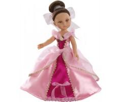 PR4573 Кэрол принцесса в розовом 32см