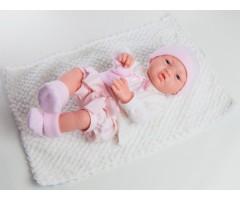 PR5010 Кукла Бэби в розовом, 36 см