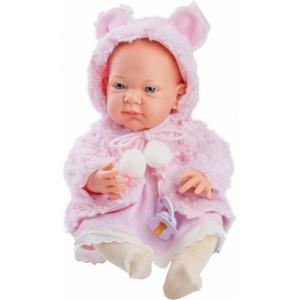 «Бэби в розовой накидке, 36 см» PR5017