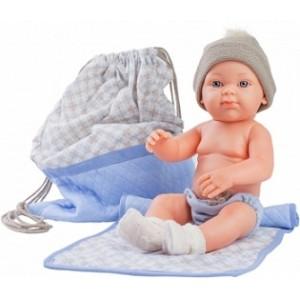 «Бэби с рюкзаком и одеяльцем, 32 см» PR5109