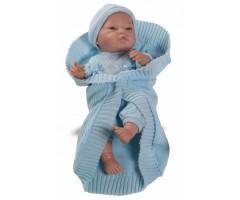 PR5172 Бэби с голубым одеялом, 45см