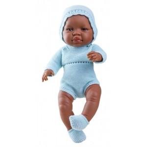 «Бэби в голубом, 45см, мулат» PR5180