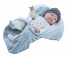 PR5185 Кукла Бэби в теплом одеяльце, 45см