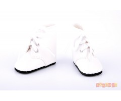 PR62324 Ботинки белые