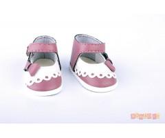 PR64031 Туфли бело-сиреневые
