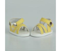 PR64038 Сандалии желтые