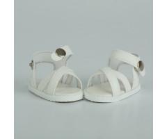 PR64057 Сандалии белые