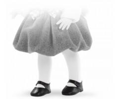 PR66079 Туфли черные, для кукол 42 см