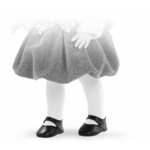 «Туфли черные, для кукол 42 см» PR66079