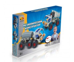 PT00156 Конструктор металлический  - грузовик