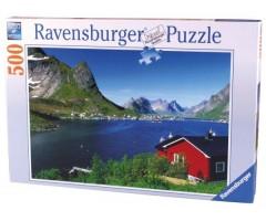 RV14176 Пазл Норвежский фьорд
