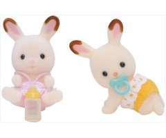 SF3217 Шоколадные Кролики-двойняшки