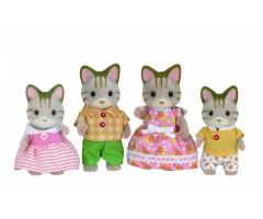 Семья Полосатых Кошек