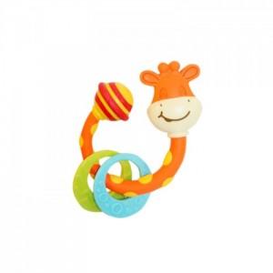 «Погремушка-прорезыватель жираф Сеня» TN461