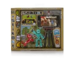 TST615A Игрушка Stikbot Стикбот студия с питомцем