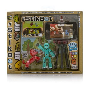 «Игрушка Stikbot Стикбот студия с питомцем» TST615A