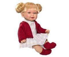 V230130 Кина блондинка с хвостиками