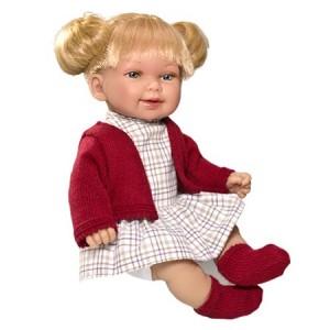 «Кина блондинка с хвостиками» V230130