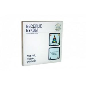 «Набор карточек Веселые буквы 33 шт.» ZN40094
